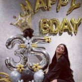 Shruti Haasan has a midnight birthday celebration; thanks her virtual family for making her day special