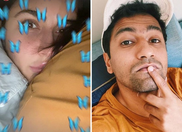 Katrina Kaif shares selfie with mystery man; fans find out it is Vicky Kaushal - Bollywood Hungama
