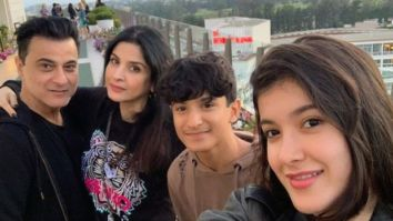 Shanaya Kapoor goes public on Instagram; check out unseen family pictures
