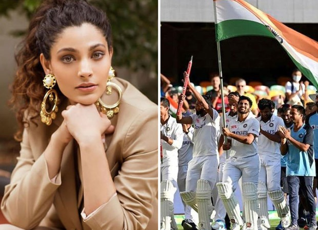 Saiyami Kher to capture Indian cricket team's historic win in Australia in a book; says it will be a humane story