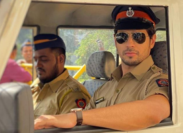 Sidharth Malhotra shares a picture of himself as a police officer in the film Thank God