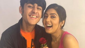 Anjali Tatrari turns a maths tutor for Yash Sehghal on the sets of Sargam Ki Sadhe Satii