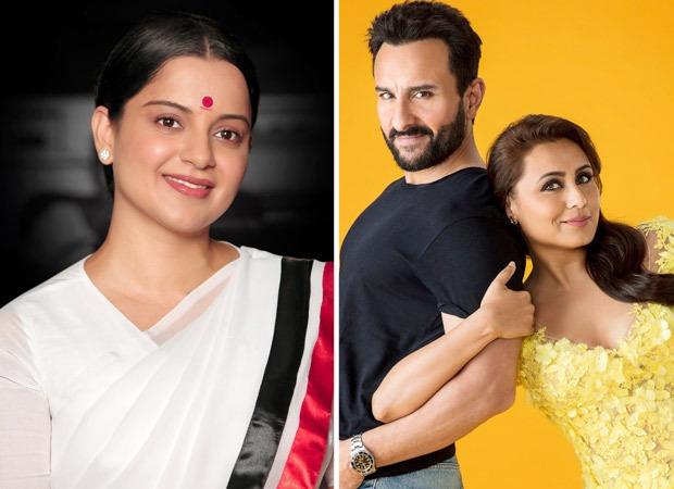 BREAKING: It's Thalaivi vs Bunty Aur Babli 2, as Kangana Ranaut to take on Rani Mukerji, Saif Ali Khan at box-office