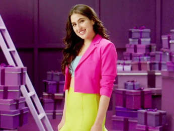 Behind The Scenes with Sara Ali Khan Purplle