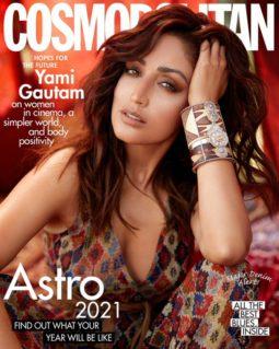Yami Gautam On The Covers Of Cosmopolitan