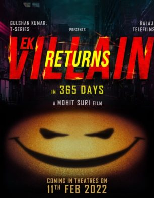 First Look Of Ek Villain Returns