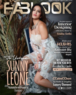 Sunny Leone On The Covers Of Fablook, Feb 2021