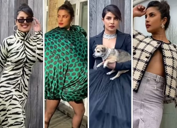 From high end fashion to over the top affair, Priyanka Chopra struts her way making sassy style statements