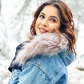 Goofball Alert Shehnaaz Gill tries the filmy twirl in snow, trips and laughs it off