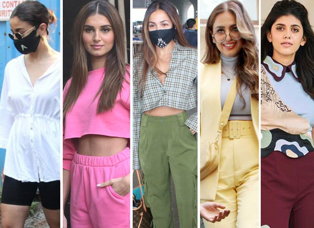 This week saw a lot of variation with the fashion; from regal lehengas to biker shorts, we've seen everything. Bollywood beauties have been out and about town giving us the content we need. Here are the fashion hits and misses of the week! Let us know your favourite looks of the week. HITS OF THE WEEK ALIA BHATT Alia loves comfort; she keeps it casual and aces almost every look! Recently, our cameras spotted Alia Bhatt at a construction site of a new abode in Pali Hill with Ranbir Kapoor and Neetu Kapoor! She wore an oversized buttoned-down white shirt with empire waistline and paired it up with cycling shorts! Alia kept her hair in a bun; wore sunglasses and her signature mask with her initials on it. TARA SUTARIA Tara Sutaria looked earlier this week in a pink track suit with a cropped bubblegum pink hoodie and pink sweat pants. Keeping her makeup minimal with poker straight hair and a white bag and slides, she looked all barbie in a comfy world. But, what caught everyone's attention was her Christian Dior sling bag worth Rs. 2,77,000. Overall, it was the comfy glam you'd want to wear! MADHURI DIXIT Madhuri Dixit began shooting for Dance Dewaane and looked ethereal in a sunshine yellow lehenga with a vibrant, mirror work multicolored choli. She was seen wearing the Asal by Abu Jani and Sandeep Khosla. She kept her makeup dewy with soft waves. Madhuri Dixit- even after all these years doesn't fail to impress with her beauty and glam. DISHA PATANI Disha attended her childhood friend's wedding and made heads turn with her looks! She looked like a million bucks in the silver and hues of pink embroidered Falguni Shane Peacock lehenga. With dewy makeup, soft waves and a fresh face, she looked breathtaking. With the signature feather dupatta and feather details, the actress made a stunning appearance at the baaraat! Minimal accessories with diamond choker and earcuffs, the look was worth a million bucks! BHUMI PEDNEKAR Bhumi gave us major fashion goals with her lilac and