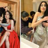Janhvi Kapoor goes from looking a glam diva to struggling to fit in an outfit