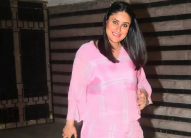 Kareena Kapoor Khan sets maternity fashion goals in pastel pink dress
