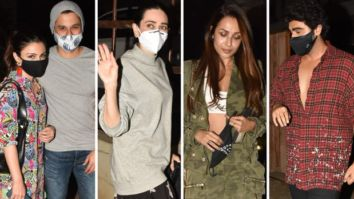 New mom Kareena Kapoor Khan gets a visit from Soha Ali Khan, Kunal Kemmu, Karisma Kapoor, Malaika Arora and Arjun Kapoor