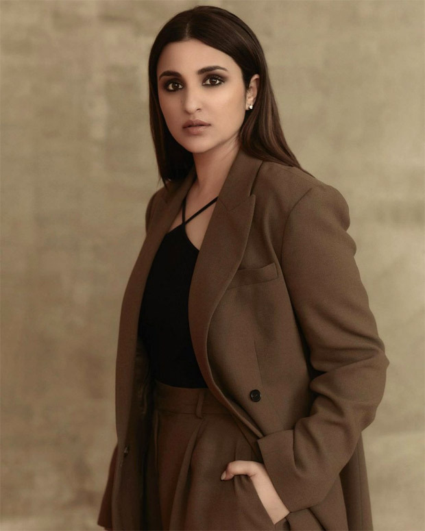Parineeti Chopra aces the power dressing in pantsuit with smokey eye glam for The Girl On The Train promotions