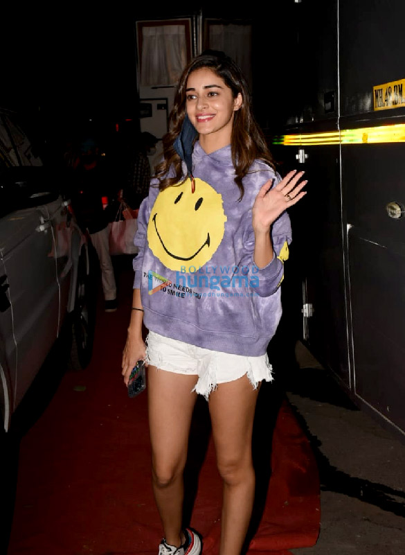 Photos Ananya Panday spotted at Film City in Goregaon (2)