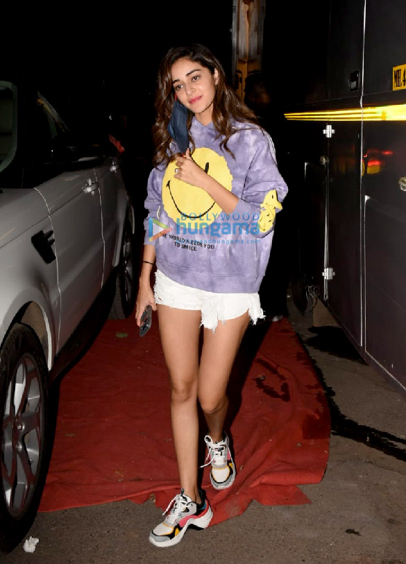Photos Ananya Panday spotted at Film City in Goregaon (3)