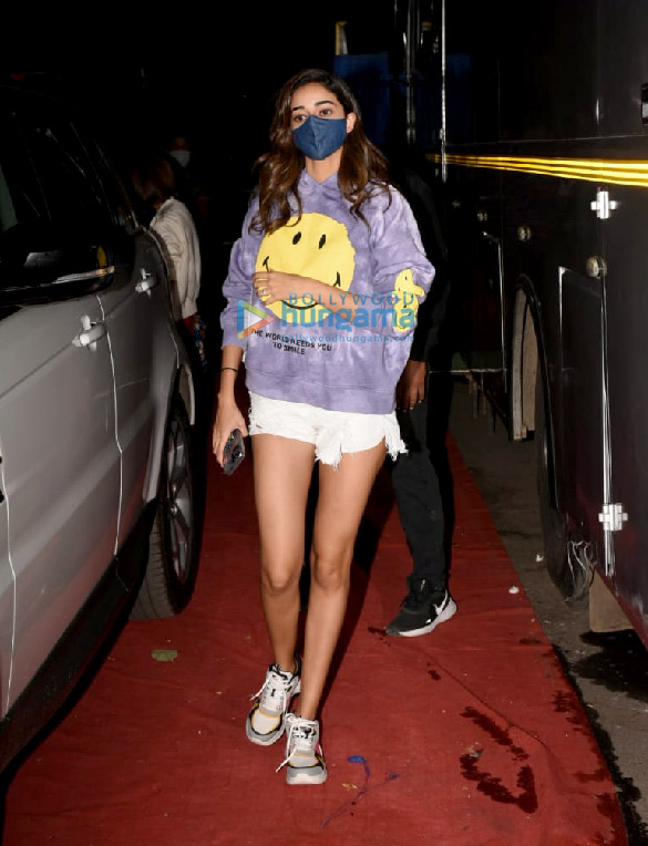 Photos Ananya Panday spotted at Film City in Goregaon (4)