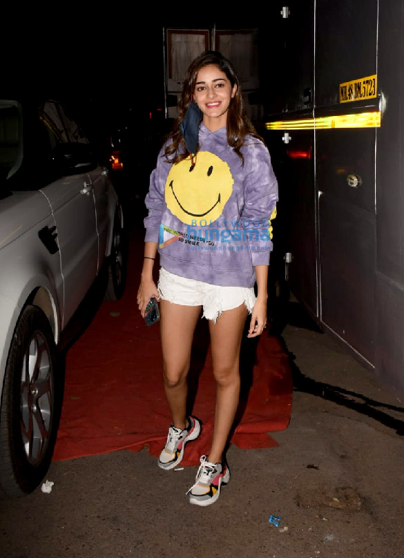 Photos Ananya Panday spotted at Film City in Goregaon (5)
