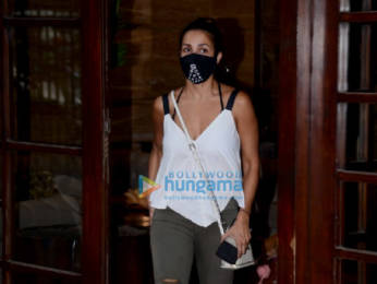 Photos: Sophie Choudry and Malaika Arora snapped in Bandra