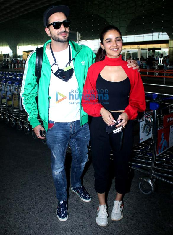 Photos Tamanna Bhatia, Aly Goni, Jasmin Bhasin and Maniesh Paul snapped at the airport (2)