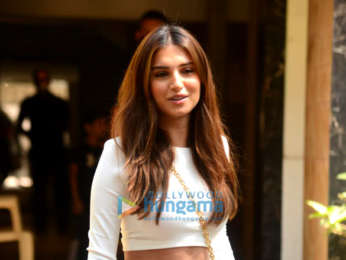 Photos: Tara Sutaria spotted at Mohit Suri's office in Bandra