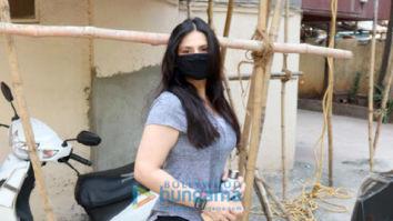 Photos: Zareen Khan spotted at Pilates studio