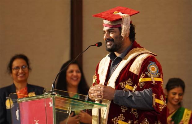 आर माधवन ने कला और फिल्मों में योगदान के लिए डॉक्टर ऑफ लेटर्स प्राप्त किया (2)