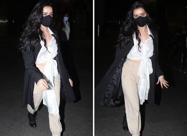 Shraddha Kapoor's latest airport style is winter wardrobe goals - Bollywood Hungama