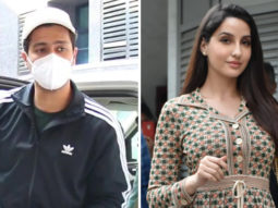 Spotted - Vicky Kaushal & Nora Fatehi at Bandra