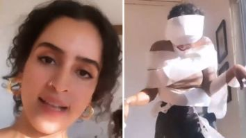 Sanya Malhotra's version of a latest Instagram reel trend is hilarious