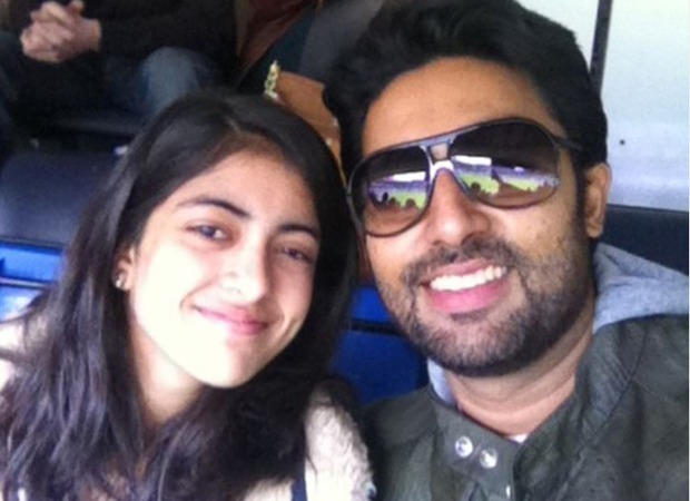 Abhishek Bachchan's niece Navya Naveli Nanda pens the sweetest words for the actor along with a throwback picture
