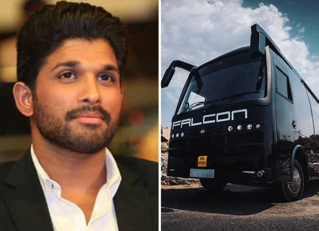 Allu Arjun's vanity van Falcon meets with an accident