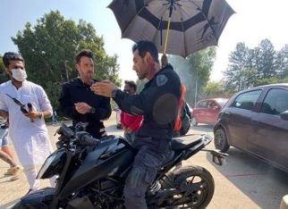 John Abraham shares a still from Attack doing what he does best