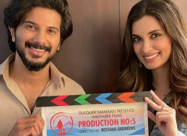 Diana Penty begins shooting for her Malayalam debut film with Dulquer Salmaan