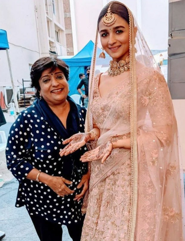 Alia Bhatt looks stunning in bridal ensemble as her pictures go viral on social media