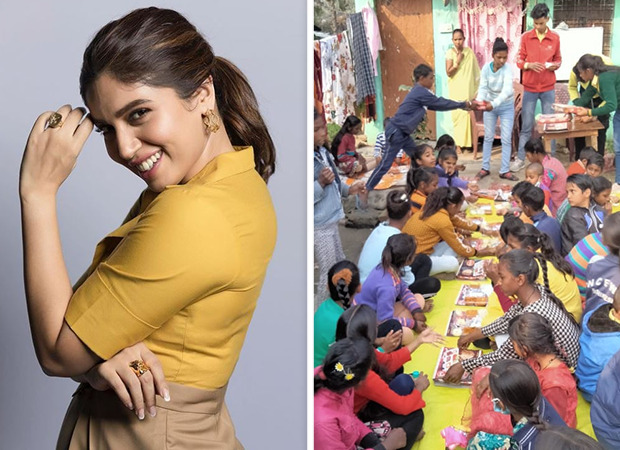 Bhumi Pednekar brings Valentine's Day cheer among underprivileged kids in Rishikesh