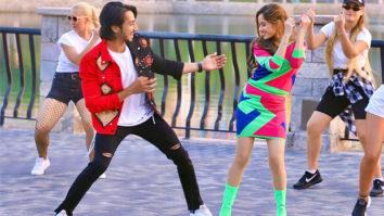 Jannat Zubair and Faisu share cutesy moments in behind-the-scenes of the music video 'Carrom Ki Rani'