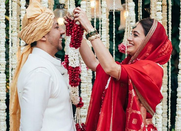 Dia Mirza pens a note on the miracle of love as she shares pictures from her wedding with Vaibhav Rekhi
