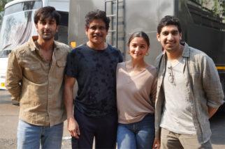 Nagarjuna wraps Brahmastra, shares pictures Alia Bhatt, Ranbir Kapoor and Ayan Mukerji
