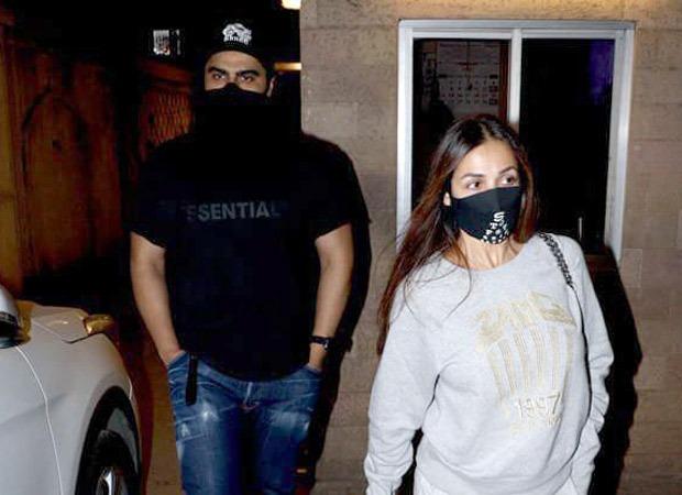 Arjun Kapoor accompanies Malaika Arora as she visits her parents