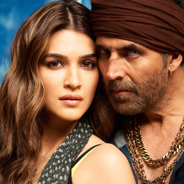 Kriti Sanon unveils new look of her and Akshay Kumar from Bachchan Pandey, wraps up first schedule - Bollywood Hungama