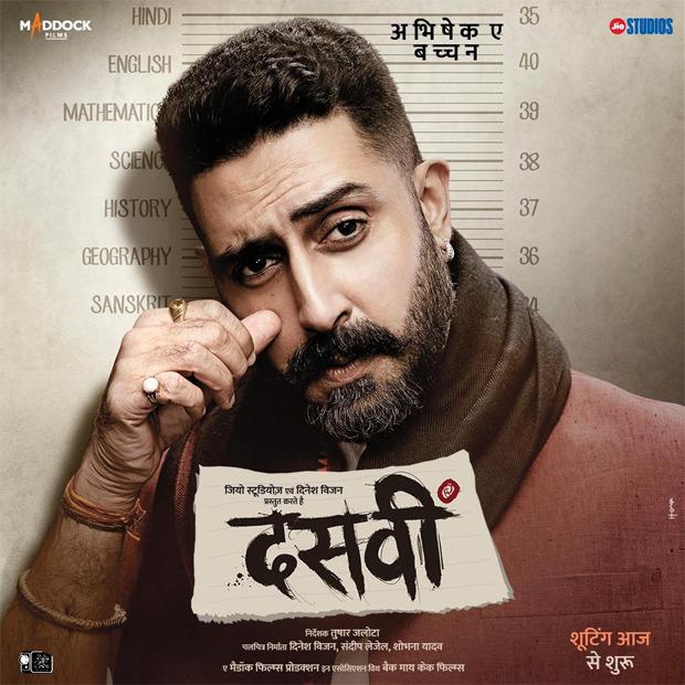 Abhishek Bachchan stars as Ganga Ram Chaudhary in Dasvi, shooting begins