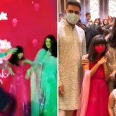 Watch: Aaradhya Bachchan nails the signature step of 'Desi Girl' as she dances with Aishwarya Rai and Abhishek Bachchan