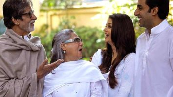 """Family busy on sets,"" says Amitabh Bachchan as Aishwarya, Abhishek and Jaya start new projects"