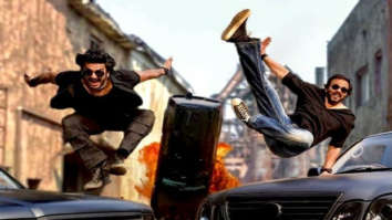 Not Cirkus, Ranveer Singh and Rohit Shetty get cars flying and crashing for noodle commercial