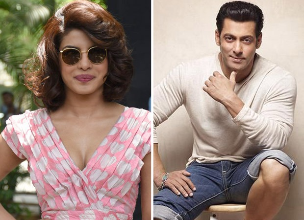 When Priyanka Chopra was told her panties should be seen in a seductive song; Salman Khan intervened later and defused the situation