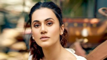 """Back to work,"" says Taapsee Pannu post the income tax raid"