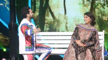 """Danish's looks are very similar to Rishi"", says Neetu Kapoor on the sets of Indian Idol season 12"