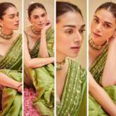 Aditi Rao Hydari's stunning green saree will make you stand out during festive season