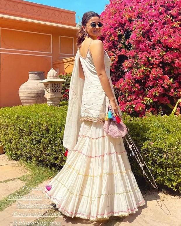 Alia Bhatt steals the show at best friend Rhea Khurranna's wedding in Arpita Mehta lehenga